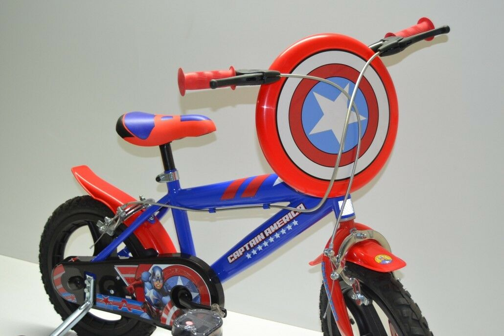 Bici bimbo 14 bici bambino 14 bicicletta bimbo 14 capitain america