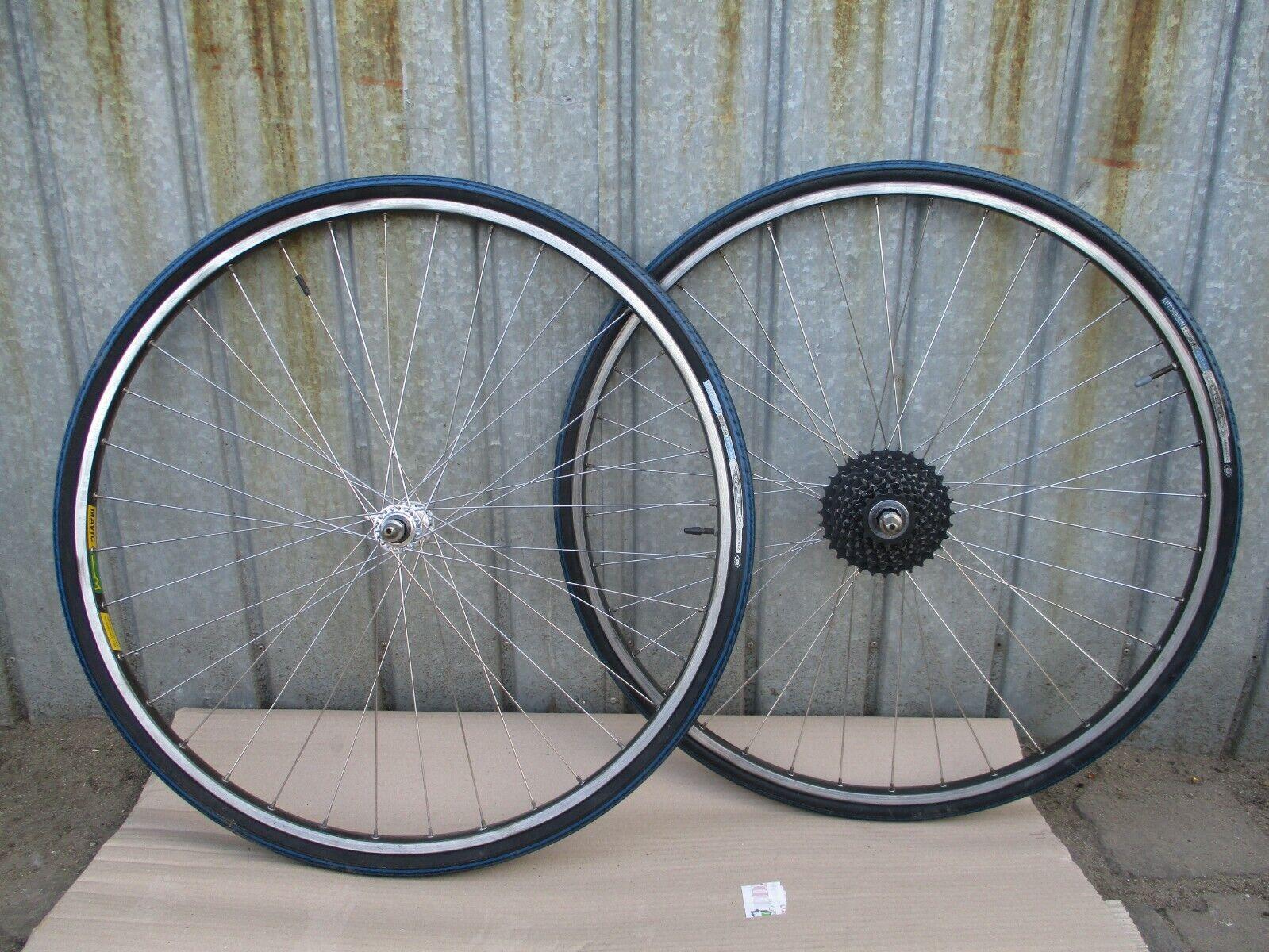 Vintage wheelset  Shimano 600  HB 6400   Mavic MA 40 - 7 speed - 36 holes  wholesale cheap