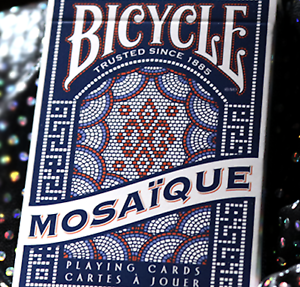 Bicycle Mosaique Playing Cards by US Playing Card Poker Playing Cards Cardistry