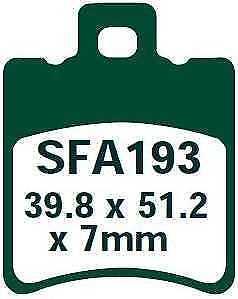EBC Bremsbeläge SFA193 VORNE Yamaha CS 50 Jog R 02-05