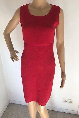 Esprit Etui Kleid Strickkleid aus Wollmischung Rot Gr. 36 ...