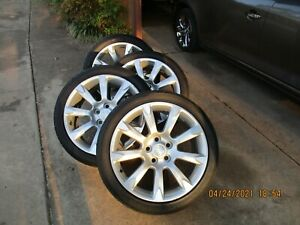 """2010-2016 Buick Allure Lacrosse Regal factory 19"""" wheels and tires"""