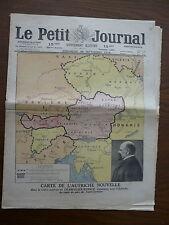 LE PETIT JOURNAL N° 1501 du 28 Septembre 1919