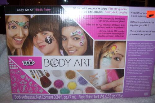 BLOCK BARTY TULIP BODY ART KIT NEW