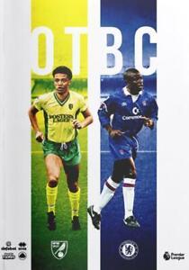 Norwich-City-v-Chelsea-Programme-24-08-19-FREE-POSTAGE-WITHIN-UK
