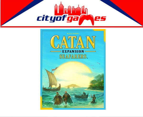 Catan Seafarers 5th Edition Expansion Board Game Brand New
