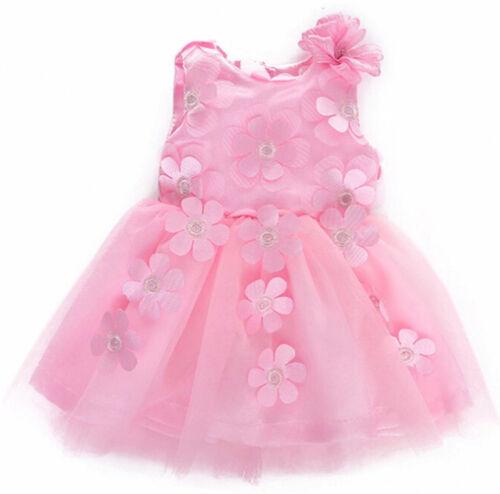 Luvabella Bambola Vestiti Dress Set-Rosa Fiore Dettaglio Abito /& Cardigan Lavorato a Maglia