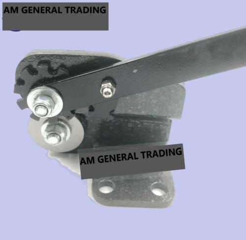 "Mini Sheet Metal Disc Cutter 1.6mm capacity 2/"" Throat 16 Gauge Jewellery Tool"