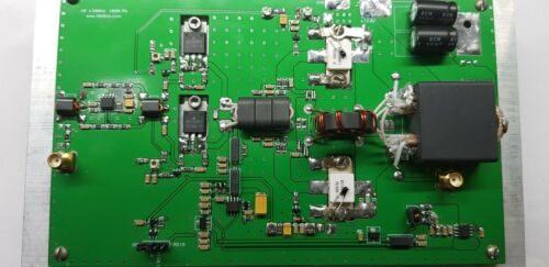 RD100HHF1 13.5v HF amplifier 100W HF PA CW SSB FM FT8 DIGI 1-55 MHz