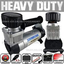 SWA17 100Psi Hi Speed 12v 4x4 Car Van Tyre Air Compressor Inflator Electric Pump