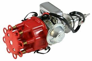 Dodge-Chrysler-Plymouth-413-426W-440-RB-V8-Ready-to-Run-HEI-Distributor-Red-Cap