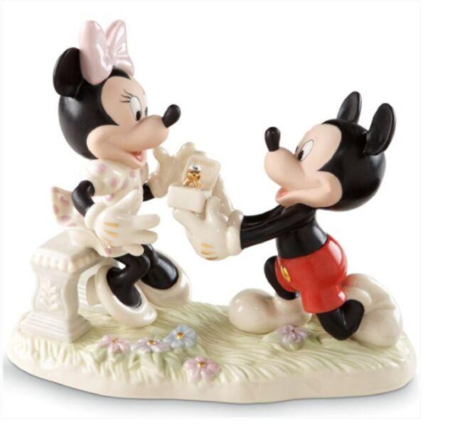 Lenox Disney Mickey & Minnie Dream Marriage Proposal