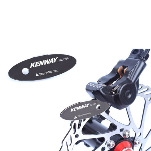 Bicycle Disc Brake Pad Rotor Alignment Tool Spacer Stainless-Steel MTB Bike