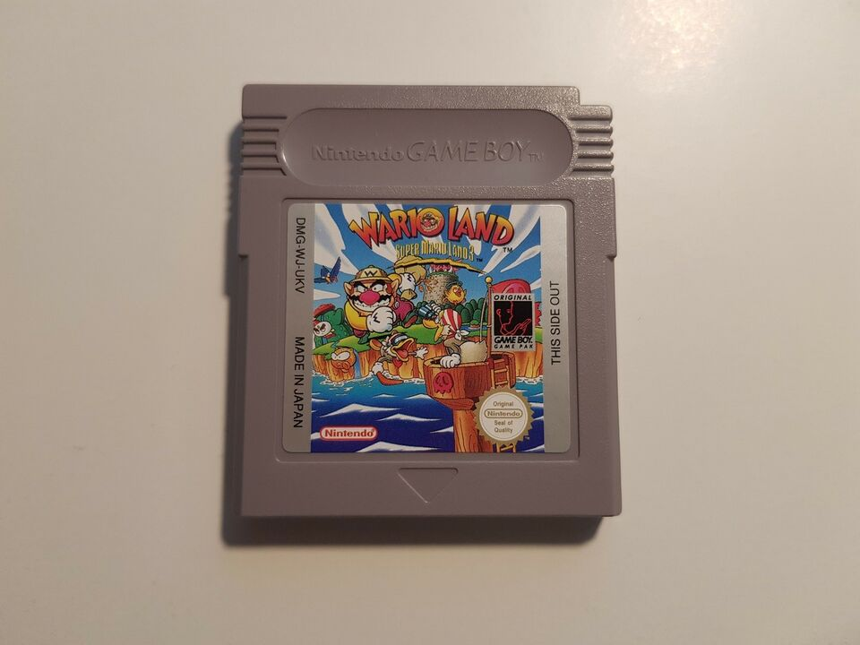 Wario Land, Gameboy