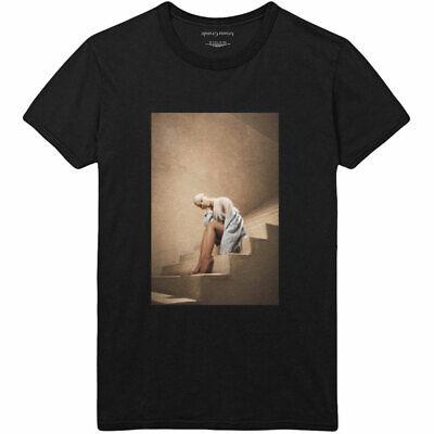 ARIANA GRANDE UNISEX TEE STAIRCASE T-shirt 100/% Official Merchandise