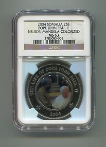 NGC-Somalia-25-Shillings-MS-63-Pope-John-Paul-11-Nelson-Mandela-Colorized-Coin