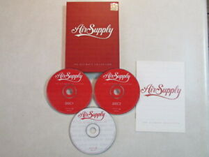 AIR-SUPPLY-THE-ULTIMATE-COLLECTION-2006-TAIWAN-IMPORT-36-TRK-ON-2CD-039-s-1-VCD-OOP