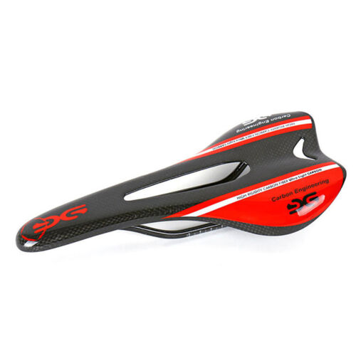 MTB Bike Saddle Carbon Fiber 3K Racing Bike Saddle 275*125mm Bicycle Cushion