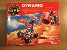 Original Década de 1980 Kenner hecho Máscara Figura de acción juego vehículo Dynamo sin usar