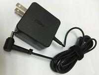 Genuine Asus 19v 1.75a 33w Vivobook X200la X200ma X201e Laptop Adapter Charger