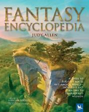 Fantasy Encyclopedia, Hook, Richard, Allen, Judy, Good Condition, Book