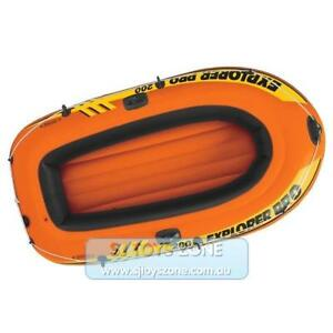 Intex-Inflatable-Deluxe-Explorer-2-Person-Boat-Outdoor-Summer-Fun-Kids-Toy