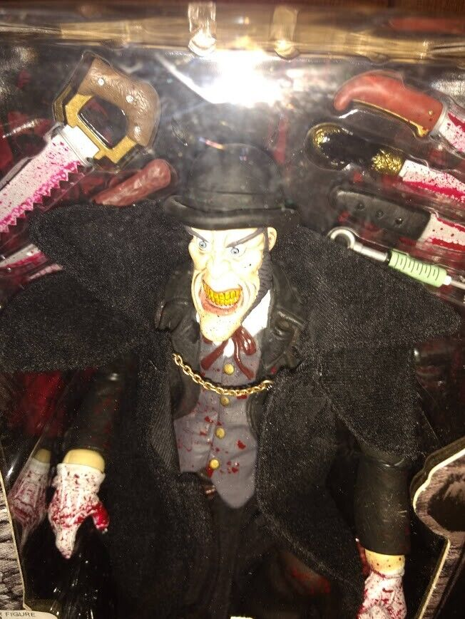 JACK THE RIPPER Mezco Neca Open Mouth Version Pre-owned Sealed  See Description