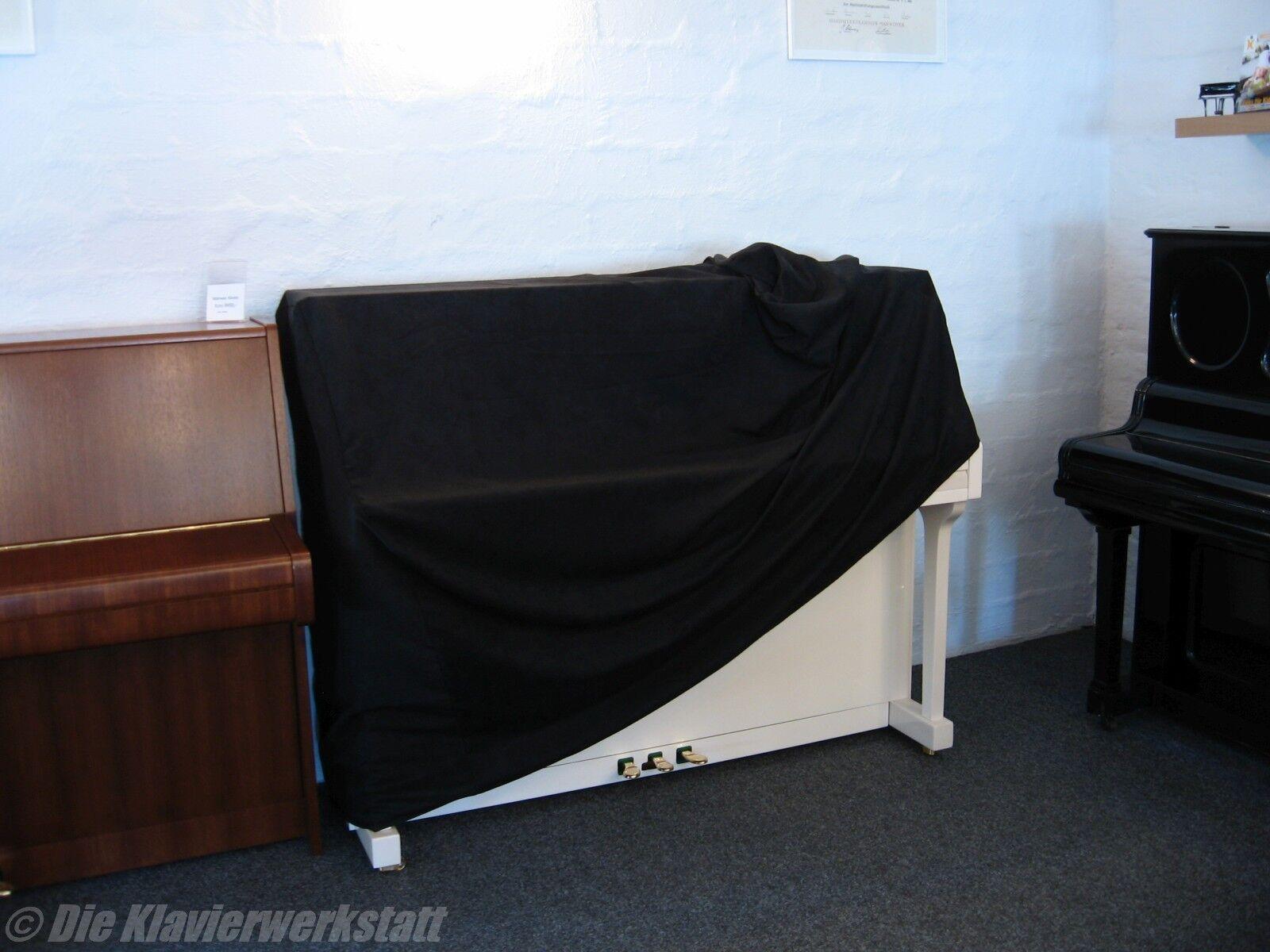 Klavier Decke Abdeckung Schutz Hülle schwarz Stoff schön