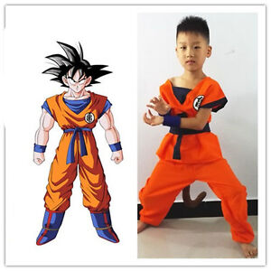 Image is loading Halloween-Costume-Kids-Boy-Anime-Cosplay-Dragon-Turtle-  sc 1 st  eBay & Halloween Costume Kids Boy Anime Cosplay Dragon Turtle Word Son Goku ...