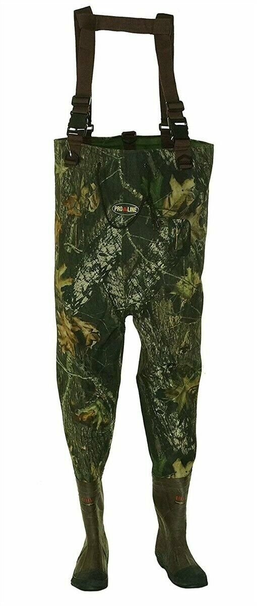 Pro Line Men's 2 Ply Chest Wader Fishing Waders  - Sunrise - Mens Size 9 Medium  best sale