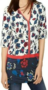 Womens-NEXT-Floral-Mix-Print-Sequin-Tunic-Top-Blouse-Dress-6-22-CLEARANCE