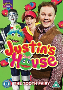 JUSTIN-S-HOUSE-THE-TOOTH-FAIRY-DVD-NUOVO
