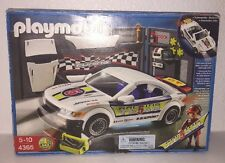 Playmobil 4365 Racing GT Car Head Rear Lights Under Body LED 99% Complete