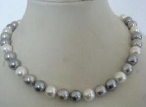 20-inch-stunning-AAA-10-11mm-tahitian-white-grey-color-pearl-necklace-14K-gold