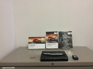 2014 BMW 2 Series Coupe 228i M235i OEM Owner's Manual Set ...