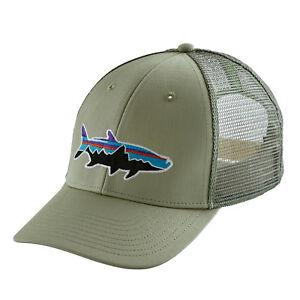 7d24997ff334b Patagonia Mens - Fitz Roy Tarpon LoPro Trucker Hat Cap - Desert Sage ...
