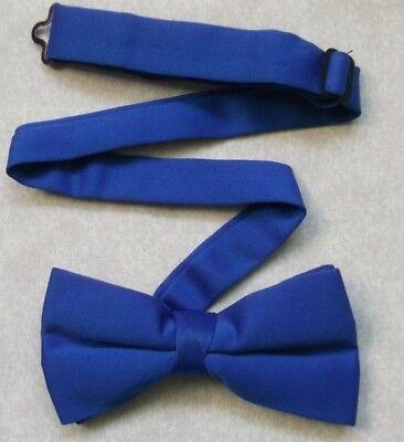 Logico Papillon Da Uomo Dickie Papillon Regolabile Retrò Vintage, Blu Royal-mostra Il Titolo Originale Ottima Qualità
