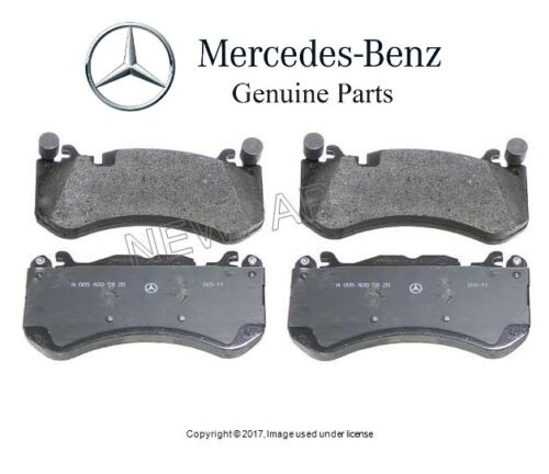 For Mercedes R230 R231 W204 W212 C190 AMG Front Brake Pad Set/&Sensor Kit GENUINE