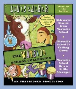 The-Wayside-School-Collection-by-Louis-Sachar-AUDIO-CD-EX-LIBRARY