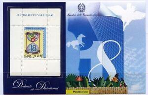 2006-Italia-Repubblica-Foglietti-Diciottenni-azzurro