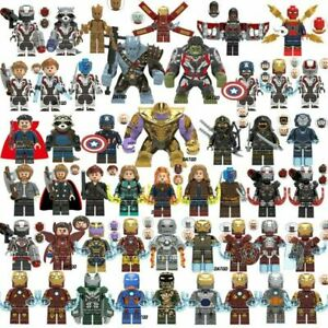 Lego-Avengers-Minifigures-250-Marvel-DC-Thor-Infinity-War-End-Game-Super-Heroes
