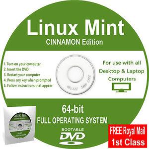 Linux-Mint-2017-DVD-Full-64-bit-Operating-System-Desktop-amp-Laptop-Computers