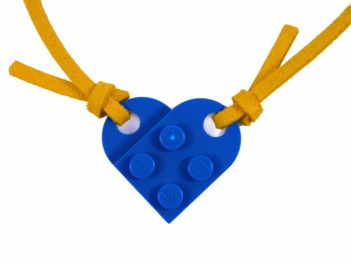 "SELECTION Valentine Love Charm Gift 20/"" 50cm Valentines LEGO Heart Necklace"