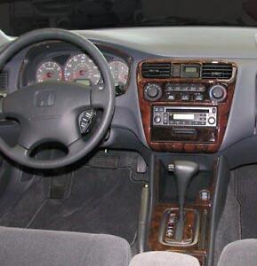 honda accord dx lx ex coupe sedan interior wood dash trim. Black Bedroom Furniture Sets. Home Design Ideas