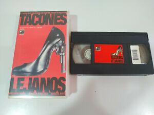 Tacones-Lejanos-Pedro-Almodovar-Miguel-Bose-VHS-Cinta-Castellano