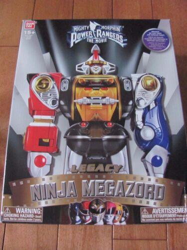 Power Rangers Legacy NINJA MEGAZORD Bandai #97421 NEW