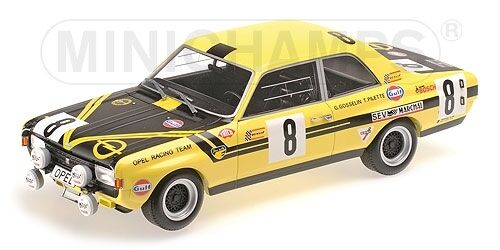 Opel Commodore A Steinmetz Pilette Gosselin 24h Spa 1970 1 18 Model MINICHAMPS  | Sale