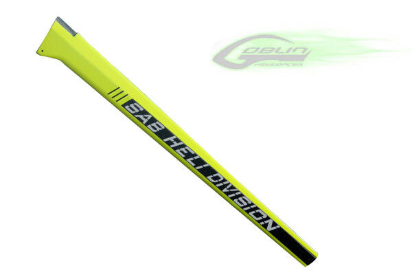 Carbon Fiber Tail Boom - Yellow - Goblin 630 [H0092-S]