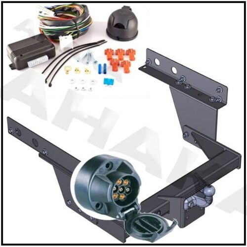 Towbar /& Electric 7pin 12N Iveco Daily II Cab Chassis 1999 on Full Towbar Kit