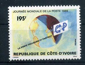 100% De Qualité Côte D'ivoire 1002 ** (weltposttag) (128)-afficher Le Titre D'origine